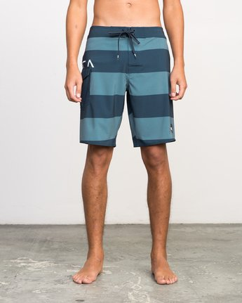 1 UNCIVIL STRIPE TRUNK  H1BSRDRVP8 RVCA