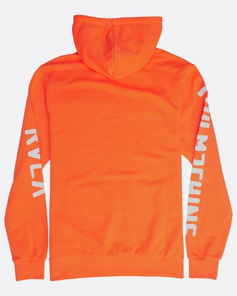 2 SMALL TOY MACHINE HOODIE Orange H1HOTBRVP8 RVCA