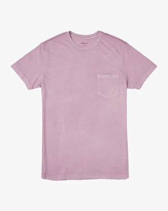 0 Ptc 2 Pigment Knit Top Purple H1KTRCRVP8 RVCA