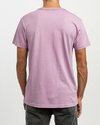 3 Ptc 2 Pigment Knit Top Purple H1KTRCRVP8 RVCA