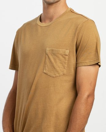4 PTC 2 Pigment - Knit Top for Men Brown H1KTRCRVP8 RVCA