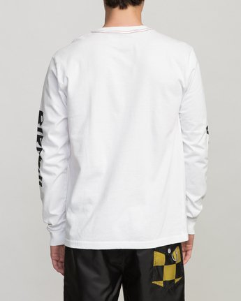 5 COLLAB 02 LS White H1LSBARVP8 RVCA