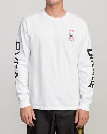 1 COLLAB 02 LS White H1LSBARVP8 RVCA