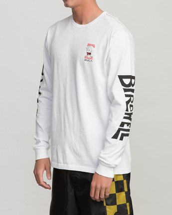 3 COLLAB 02 LS White H1LSBARVP8 RVCA
