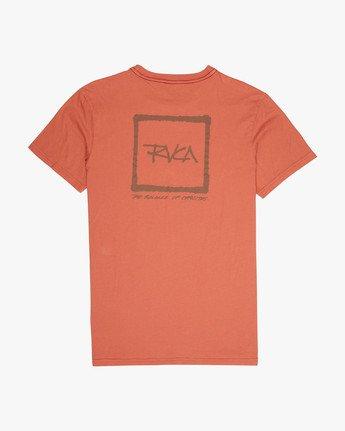 1 RVCA SCRAWL Red H1SSRURVP8 RVCA