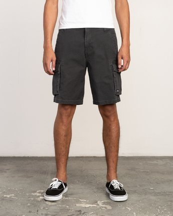 1 Wannabe Cargo - Short for Men Black H1WKJORVP8 RVCA