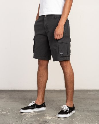 2 Wannabe Cargo - Short for Men Black H1WKJORVP8 RVCA