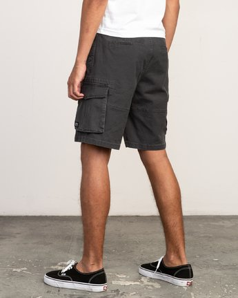 3 Wannabe Cargo - Short for Men Black H1WKJORVP8 RVCA