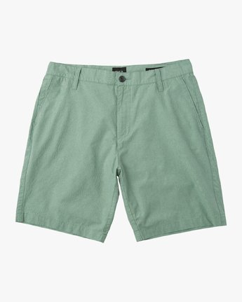 "0 That'Ll Walk Oxford 19"" Walkshorts Green H1WKRXRVP8 RVCA"