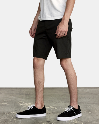2 Weekend Stretch Short Black H1WKRZRVP8 RVCA