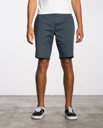 1 Weekend Stretch  - Pantalones cortos elásticos para Hombre Azul H1WKRZRVP8 RVCA