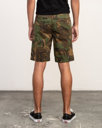 4 Weekend Stretch  - Short stretch pour Homme Camo H1WKRZRVP8 RVCA