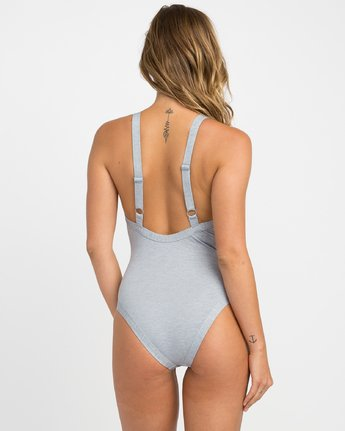 2 PIPELINE ONE PIECE Grey H3SWRFRVP8 RVCA