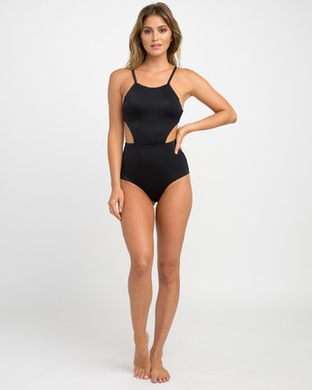 4 SOLID ONE PIECE  H3SWRTRVP8 RVCA