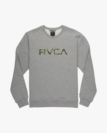 BIG RVCA CREW  L1CRRARVF8