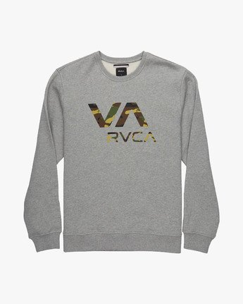 VA RVCA CREW  L1CRRCRVF8