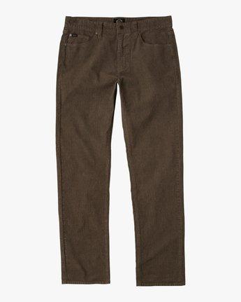 7 Campbell Bros Daggers - Pantalon en velours côtelé pour Homme  L1PNRDRVF8 RVCA
