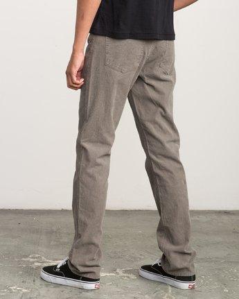 2 Campbell Bros Daggers - Pantalon en velours côtelé pour Homme  L1PNRDRVF8 RVCA