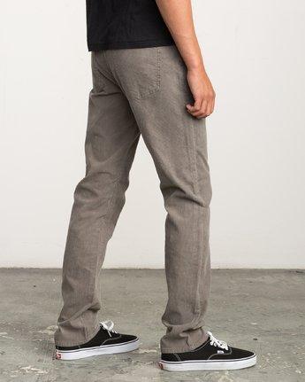4 Campbell Bros Daggers - Pantalon en velours côtelé pour Homme  L1PNRDRVF8 RVCA