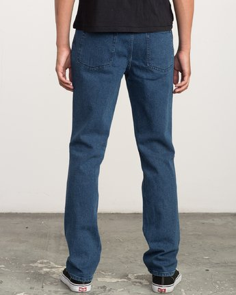 3 Daggers - Slim-Straight Jeans for Men Blue L1PNRERVF8 RVCA