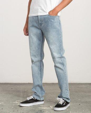 1 Daggers Slim-Straight Jeans Beige L1PNRJRVF8 RVCA
