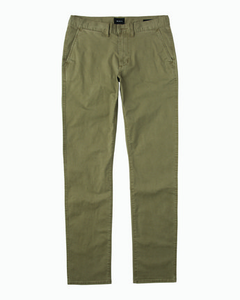 6 Daggers Chino  - Pantalon pour Homme  L1PTRBRVF8 RVCA