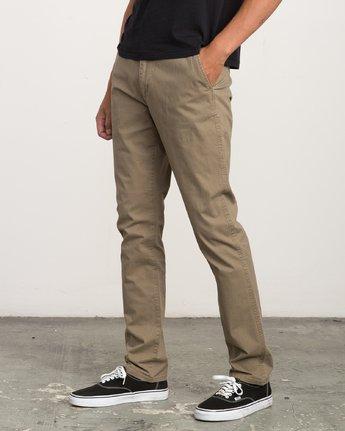 1 Daggers Chino  - Pantalon pour Homme  L1PTRBRVF8 RVCA
