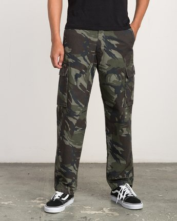 0 EXPEDITION CARGO PANT Camo L1PTRCRVF8 RVCA