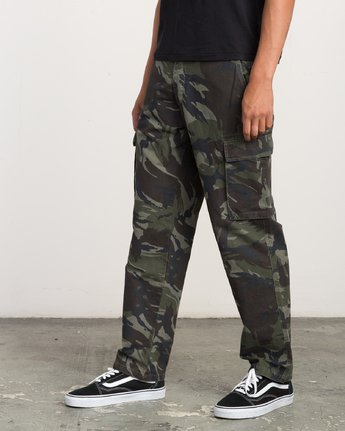1 EXPEDITION CARGO PANT Camo L1PTRCRVF8 RVCA