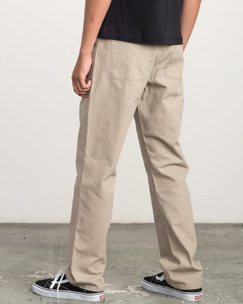2 AR CANVAS PANT Green L1PTRERVF8 RVCA