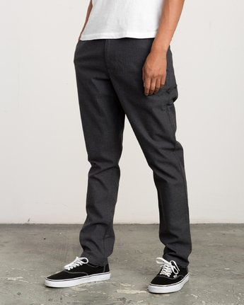 1 ALL TIME ARC PANT Black L1PTRGRVF8 RVCA