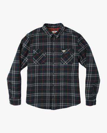 AR PLAID LS  L1SHRBRVF8