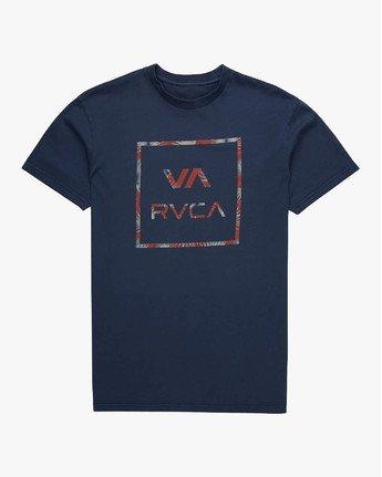 1 VA ALL THE WAY SS Azul L1SSRARVF8 RVCA