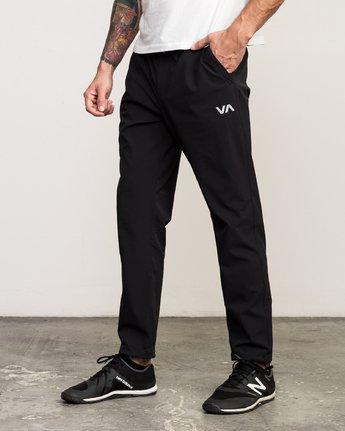 3 VA TECH PANT Black L4PTMCRVF8 RVCA
