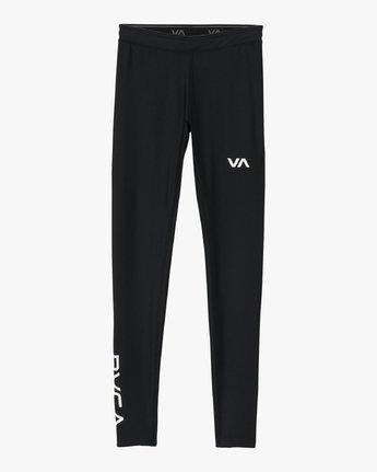 6 VA Performance - Sports Legging for Women Black L4PTWARVF8 RVCA