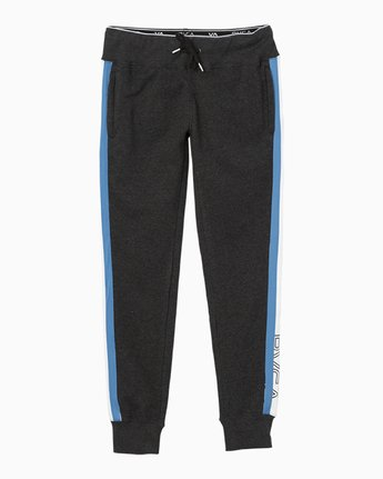 7 VA GUARD FLEECE JOGGER Black L4PTWDRVF8 RVCA