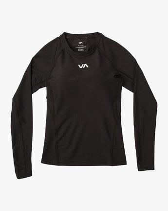 5 VA Compression LS Shirt Black L4TPWCRVF8 RVCA