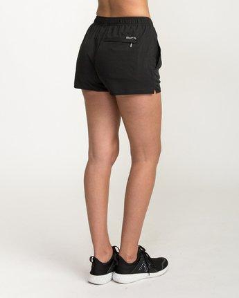 3 VA Sport Yogger Stretch - Short pour Femme Noir L4WKWCRVF8 RVCA