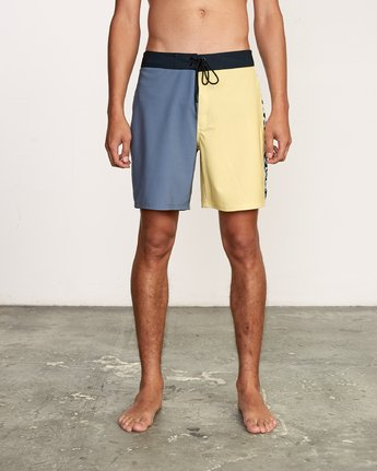 "1 Nash 18"" Boardshort Yellow M101VRNT RVCA"