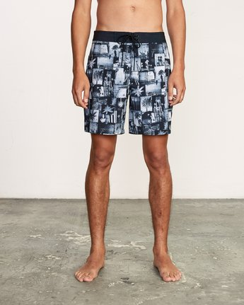 "1 Nash 18"" Boardshort Black M101VRNT RVCA"