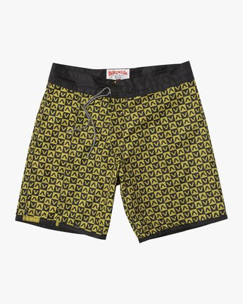 "2 Birdwell Point Panic 18"" Boardshort Black M102PRPP RVCA"