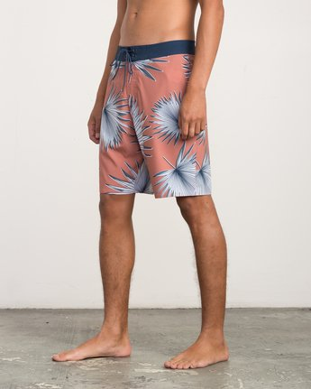 "2 Varca 20"" Boardshort Brown M102QRVA RVCA"