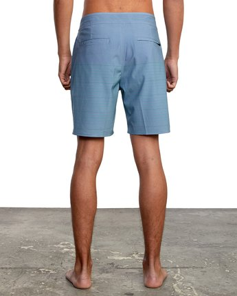 "2 CURREN BOARDSHORT 18"" Grey M1031RCT RVCA"