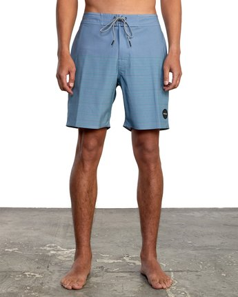 "5 CURREN BOARDSHORT 18"" Grey M1031RCT RVCA"