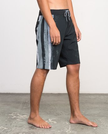 "6 Christian Fletcher 20"" Boardshort Black M103PRCH RVCA"