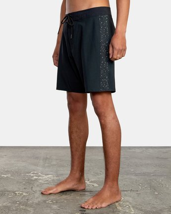 "5 APEX BOARDSHORT 18"" Black M1042RLT RVCA"