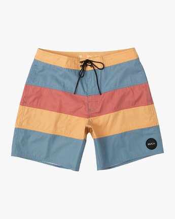 "0 Noble Striped 18"" Trunk Orange M104VRNT RVCA"
