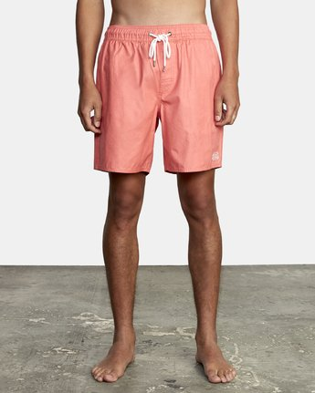 "6 OPPOSITES 17"" ELASTIC  TRUNK Pink M1051ROE RVCA"