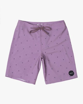 "10 VA PRINT 19"" TRUNK Purple M112VRVA RVCA"