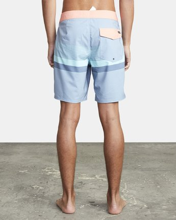 "3 RODGER BOARDSHORT 18"" Blue M1132RRT RVCA"